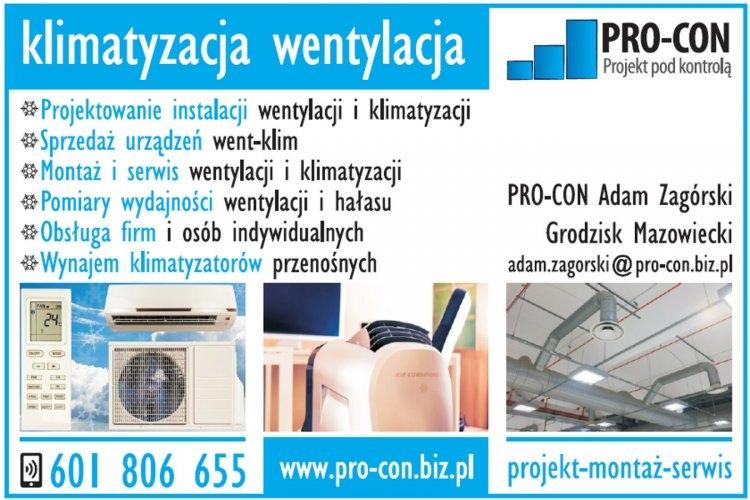 PRO-CON wentylacja i klimatyzacja